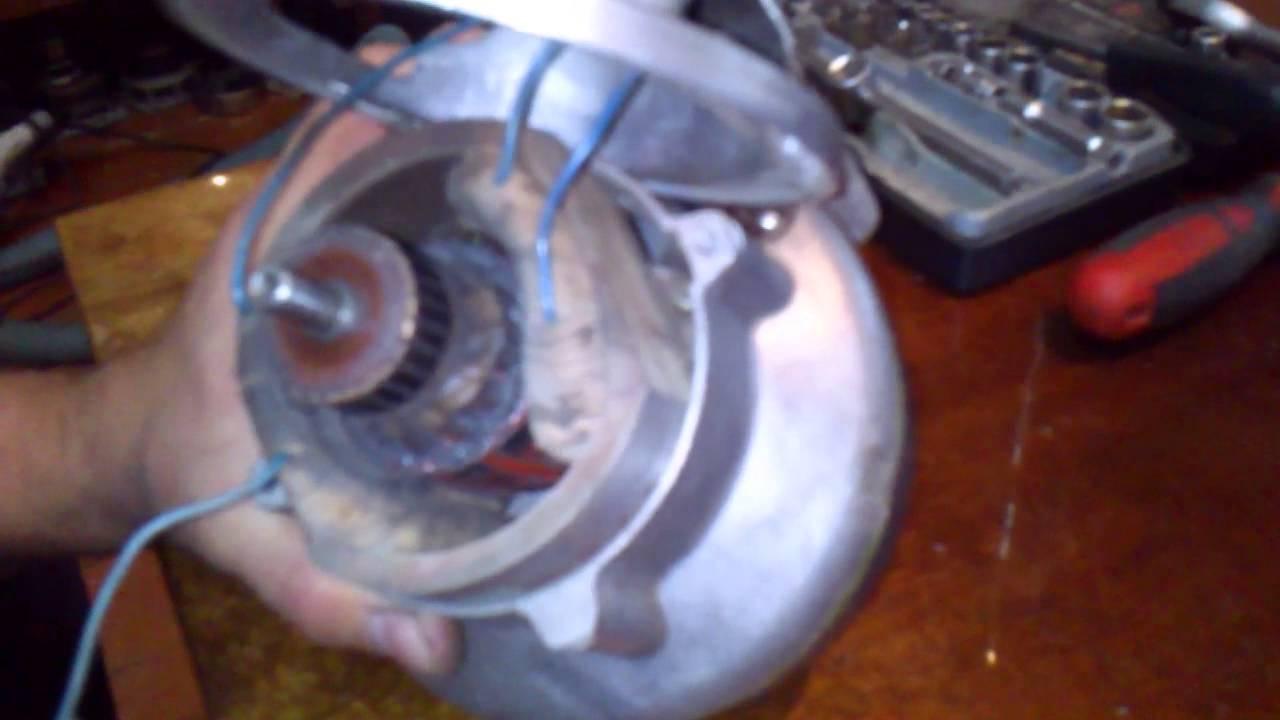 Двигатель пылесоса Ракета 12а