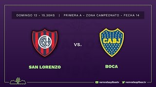San Lorenzo 1 -1 Boca | #VamosLasPibas | Fútbol femenino