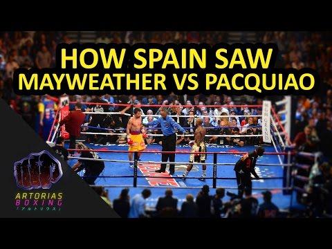 How Spain saw Mayweather x Pacquiao (English Subs) #WTFU
