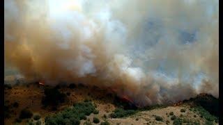 Խոսրովի անտառում տարածվող կրակը չի հաջողվում հանգցնել
