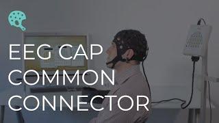 ЭЭГ шлем с общим разъемом MCScap-EC (EEG cap with common connector MCScap-EC)(19 чашечных электродов MCScap-T и два ушных электрода установлены на шлем для чашечных электродов и соединяются..., 2015-04-08T14:41:36.000Z)