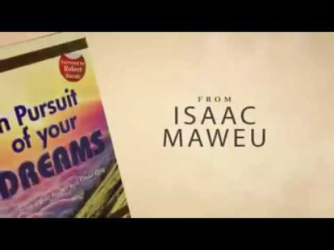 Isaac MAWEU on Book Launch
