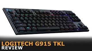 Logitech G915 TKL Review | 4K