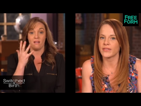 Switched At Birth  100 Episodes in 30 Seconds with Katie Leclerc  Freeform