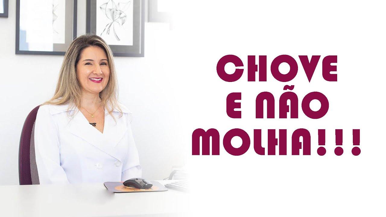 O CHOVE E NÃO MOLHA DO MAU HÁLITO!