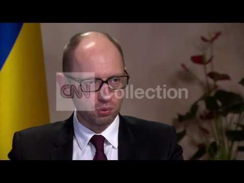 UKRAINE:YATSENYUK - WILL NOT ACCEPT ANNEXATION