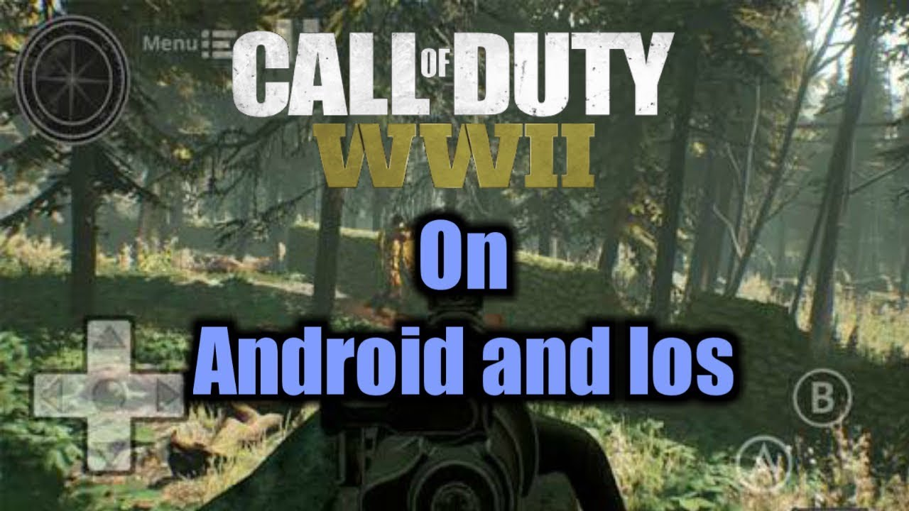 Top 5 COD WW2 games on Android AND Ios Free!!!