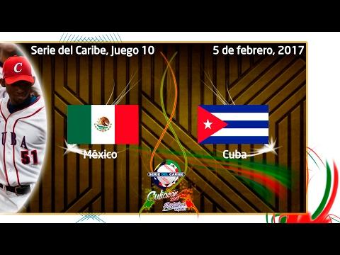 México vs. Cuba, 5 de febrero 2017