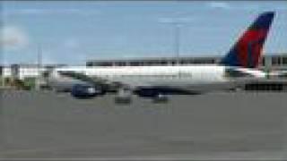 Flight Simulator- Delta Flight South Africa to New York
