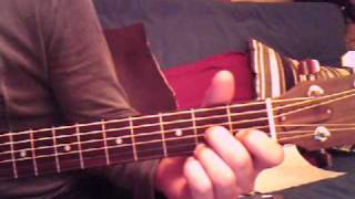 king creosote the admiral acoustic guitar lesson.wmv