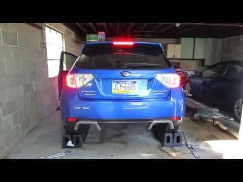 Subaru WRX Open Downpipe Exhaust Clip