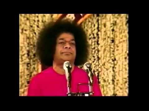 #SaiBabaspeech Sathya Sai Baba speech - important