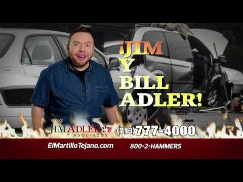 Jim Y Bill Adler comercial español
