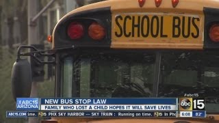 New school bus law in Arizona