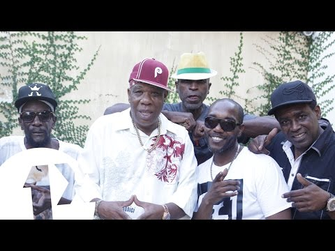 1Xtra in Jamaica - Burro Banton, Eek-a Mouse, Peter Metro & Major Mackeral Freestyle