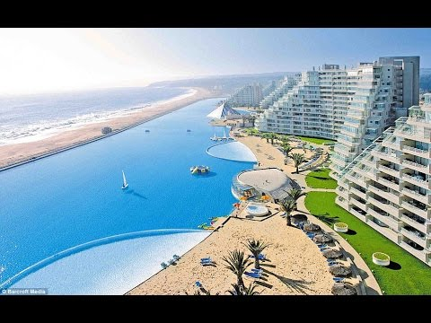 Biggest swimming pool in the world youtube - Where is the worlds largest swimming pool ...