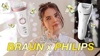 Braun vs Philips epilator revi…