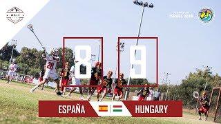 España lacrosse Netanya 2018 | Partido 5 contra Hungría | Wolf