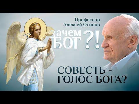 СОВЕСТЬ - ГОЛОС БОГА? ПРОФЕССОР ОСИПОВ. ЗАЧЕМ БОГ?!