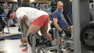 AWKWARD WORKOUTS IN THE GYM PRANK