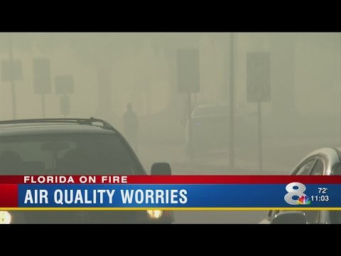 Smoke from wildfires disrupts lives, puts health at risk