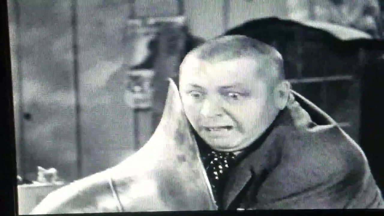 The Three Stooges - Curly vs the tuba