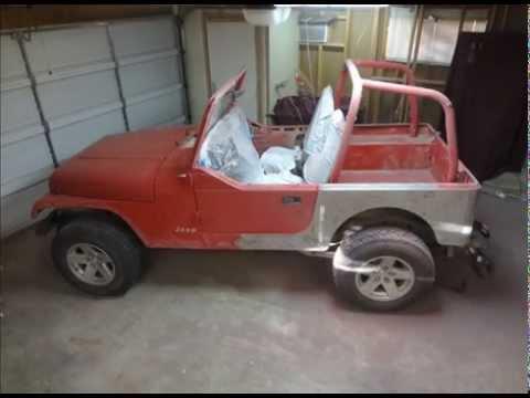 Jeep Wrangler YJ Paint Job - YouTube
