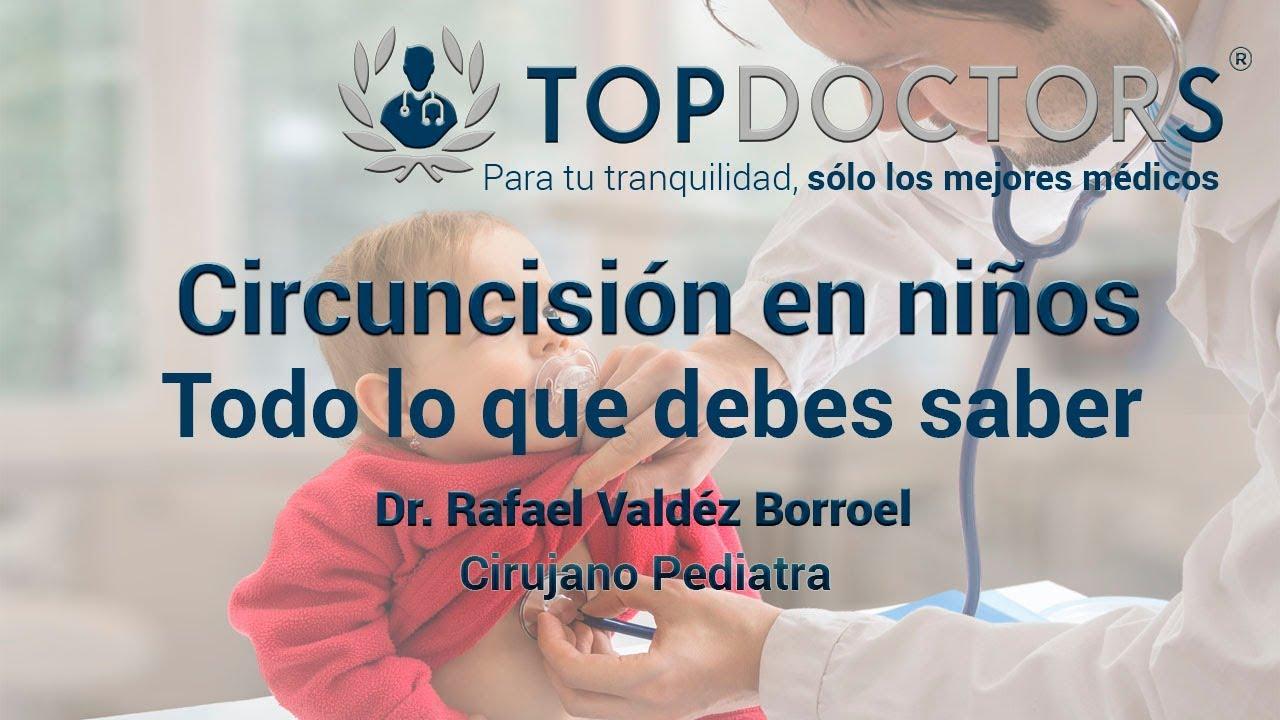 Circuncisión en niños - todo lo que debes saber