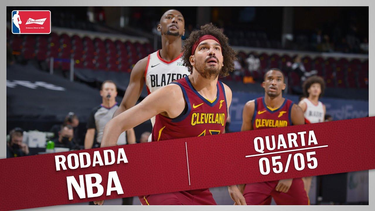 RODADA NBA 05/05 - RETORNO DE VAREJÃO, SHOW DE JOKIC, TOP 10 E MAIS!