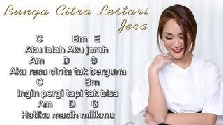 Chord & Lirik   Bunga Citra Lestari - Jera