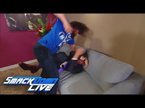 Daniel Bryan invades The Miz's exclusive : SmackDown LIVE, Aug. 7, 2018