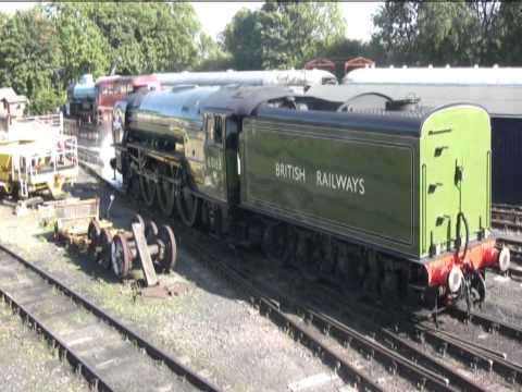 TORNADO'S FINAL DAY AT NENE VALLEY RAILWAY, Longest ever chime whistle. 06 09 2015