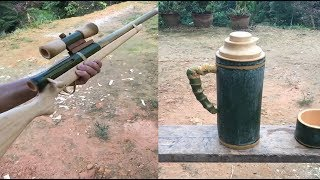 6 Awesome ideas How to make PUBG item using Bamboo