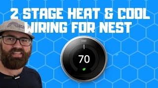 2 Stage Thermostat Wiring For Nest - YouTubeYouTube