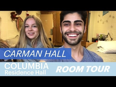 Residence Hall Tour - Carman Hall | Columbia University