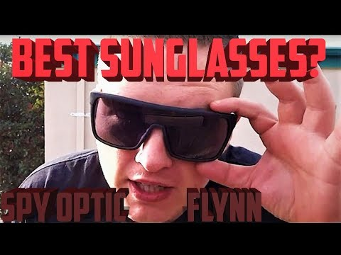 Spy Optic Flynn Oversized Sunglasses Review (Best Spy Sunglasses 2016-2017?)