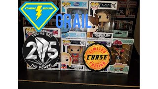Grail Call Genie, New Friends and Tigerzord Pop, Chase Predator Pop, Batgirl Rock Candy.