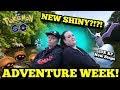 ⭕ Live ⭕  20X XP NEW STOPS - NEW ROCK TYPE SHINY!!? - ADVENTURE WEEK | Pokemon Go News