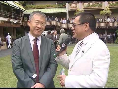 RACEMETING 34  INTERVIEW WITH THE CHINESE AMBASSADOR LI LI