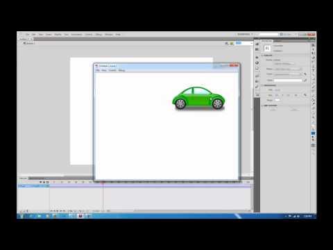 Flash CS5.5 Animation Tutorial for Beginners