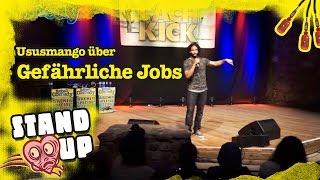 Ususmango - Der gefährlichste Job der Welt (Rapper/Comedian)