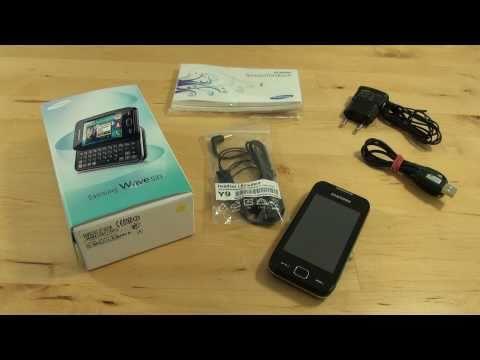 Samsung Wave 533 Test Erster Eindruck