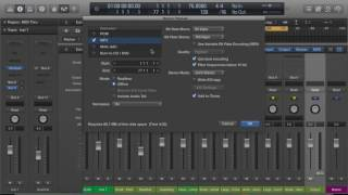 Bounce/Export 2 MP3 WAV & iTunes - Logic Pro X (Tutorial)