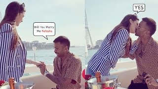 Hardik Pandya Gets ENGAGED With Natasha Stankovic On His Private Yacht In Dubai