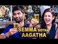Botha Aagatha  : Atharva , Mishti and Director Interview | Semma Botha Aagathaa Making