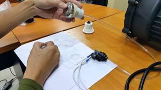 การต่อ ระบบควบคุมสปาจากุชชี่ Pnumatic switch