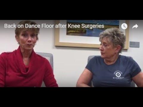 Back on Dance Floor after Knee Surgeries