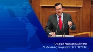 Ο Νίκος Νικολόπουλος στις