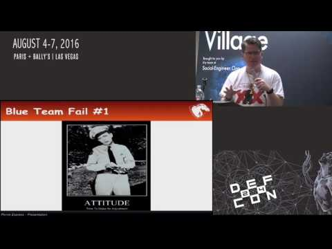DEF CON 24 SE Village - Jayson Street  - Total Fail: and Bad Mistakes,  I've Made a Few