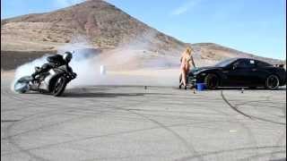 Yamaha R1 Drifting Bill Dixon .